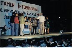03-Primera actuación de Solera 8-9-73. en el castillo 2jpg