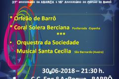 Concierto en barro (Portugal 2018